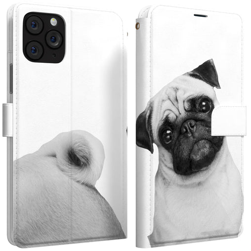 Lex Altern iPhone Wallet Case Adorable Pug Wallet