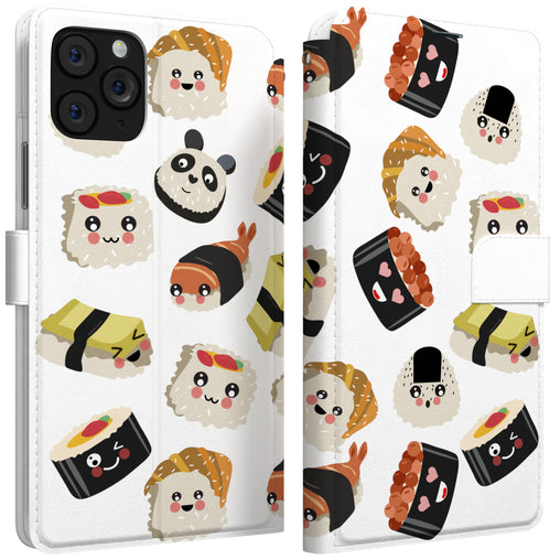Lex Altern iPhone Wallet Case Japanese Food Wallet