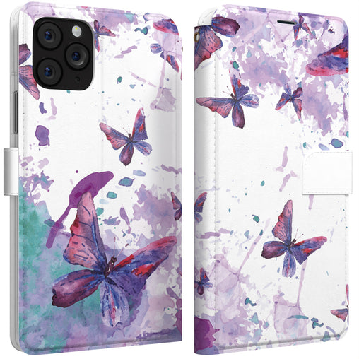 Lex Altern iPhone Wallet Case Butterfly Watercolor Wallet