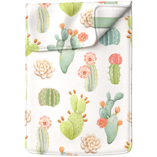 Lex Altern Laptop Sleeve Pastel Succulents