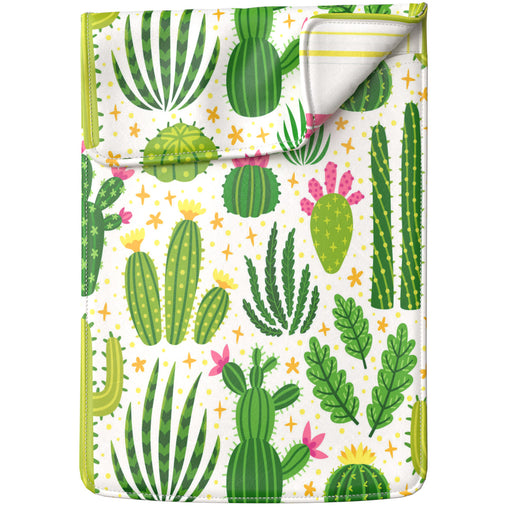 Lex Altern Laptop Sleeve Bright Succulent Pattern