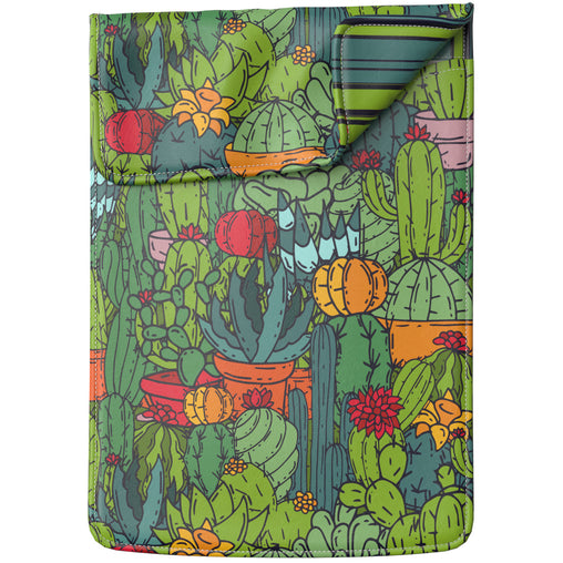 Lex Altern Laptop Sleeve Colorful Cactus