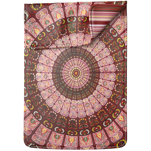 Lex Altern Laptop Sleeve Indian Red Pattern