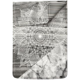Lex Altern Laptop Sleeve Gray Mandala