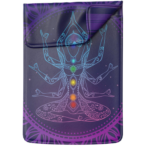 Lex Altern Laptop Sleeve Yoga Design