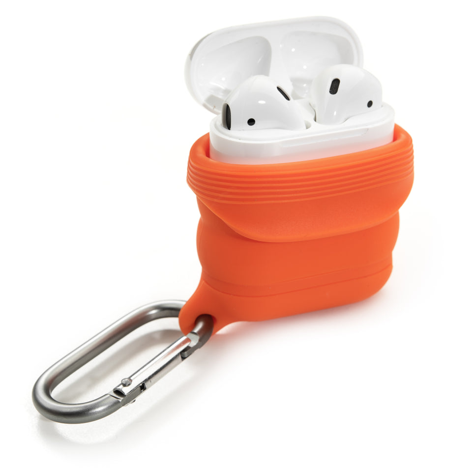 Water-Resistant AirPod Case - Orange