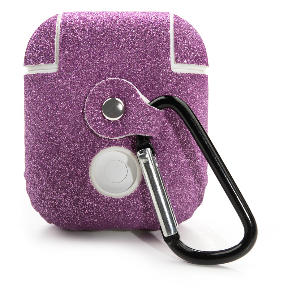 Glitter Coated AirPod Case - Pink