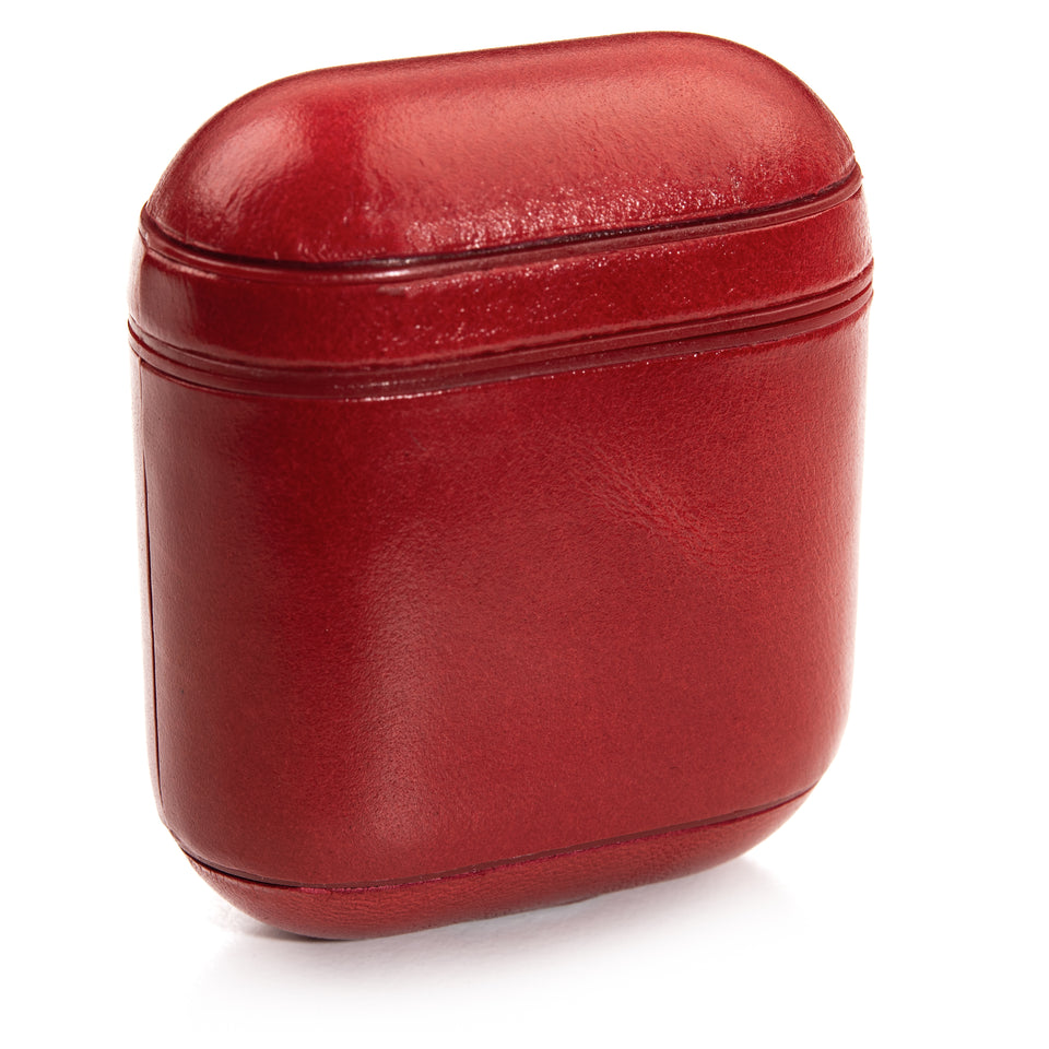 Genuine Leather Case - Scarlet