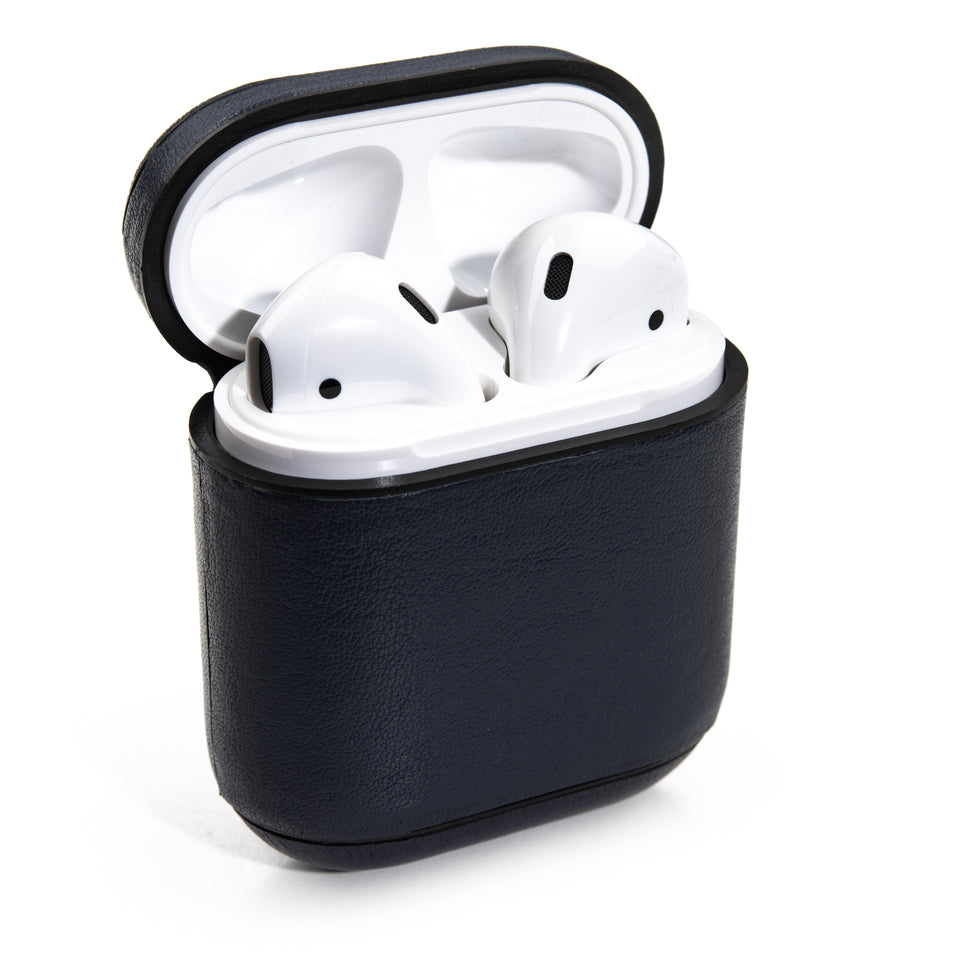 Genuine Leather AirPod Case - Midnight