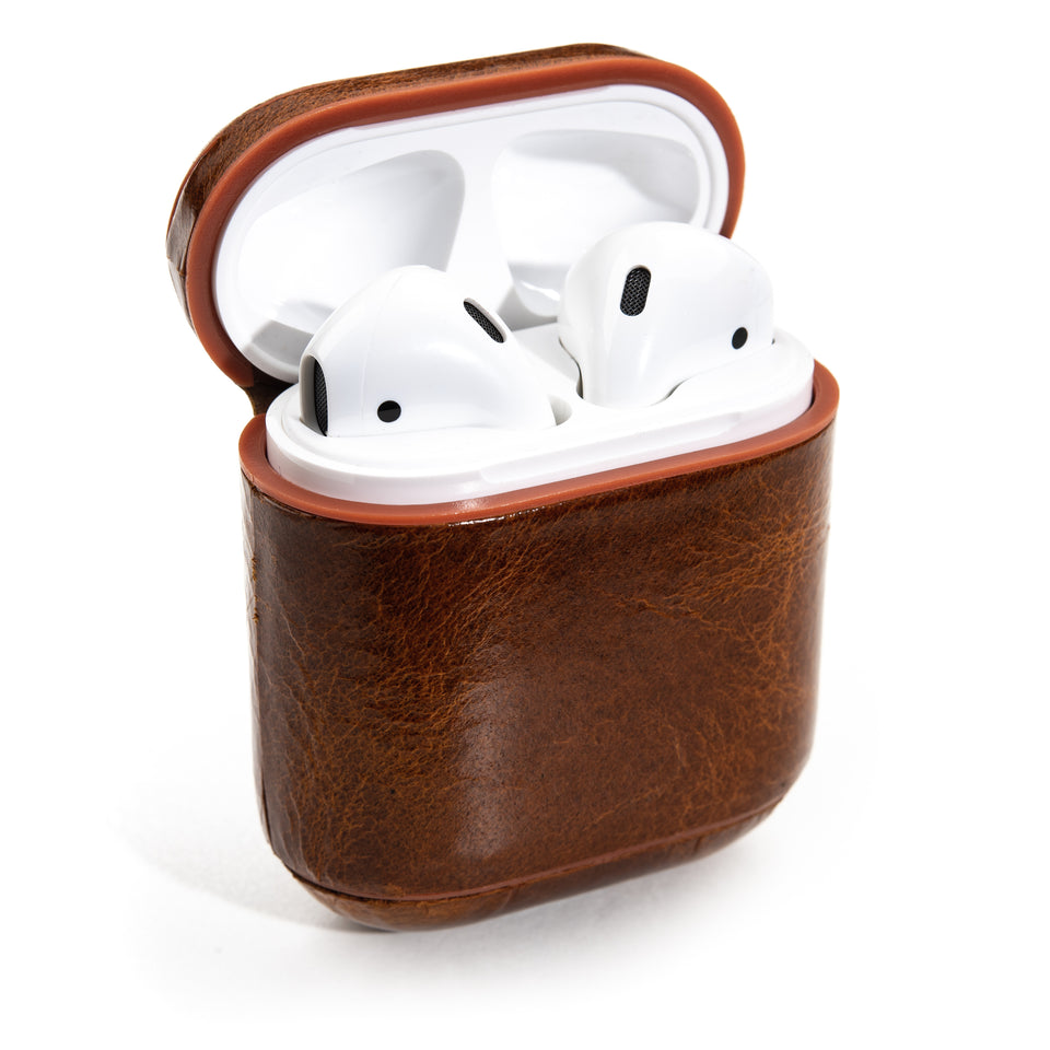 Genuine Leather AirPod Case - Rustic