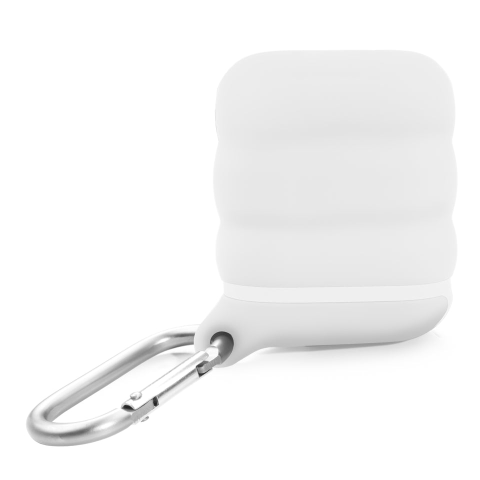 Water-Resistant AirPod Case - White