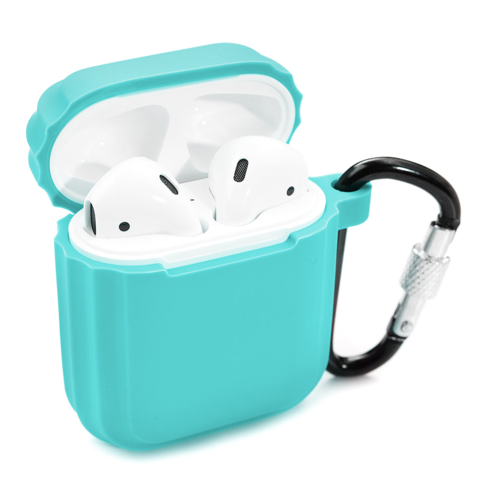 Shock-Proof AirPod Case - Aquamarine