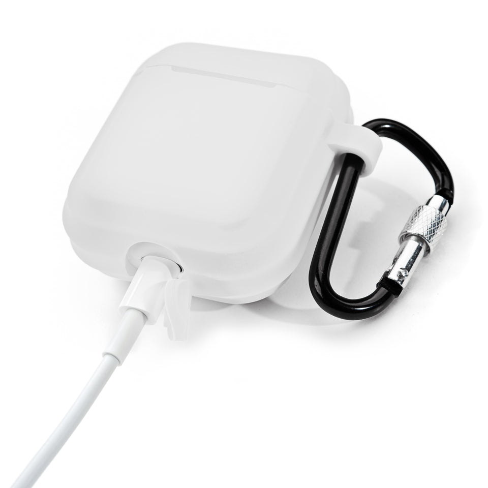 Shock-Proof AirPod Case - White