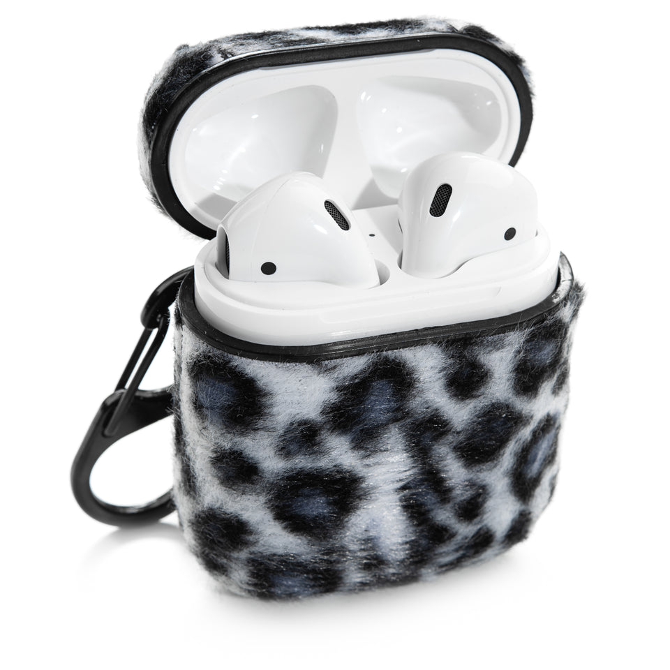 Designer AirPod Case - Snow Leopard