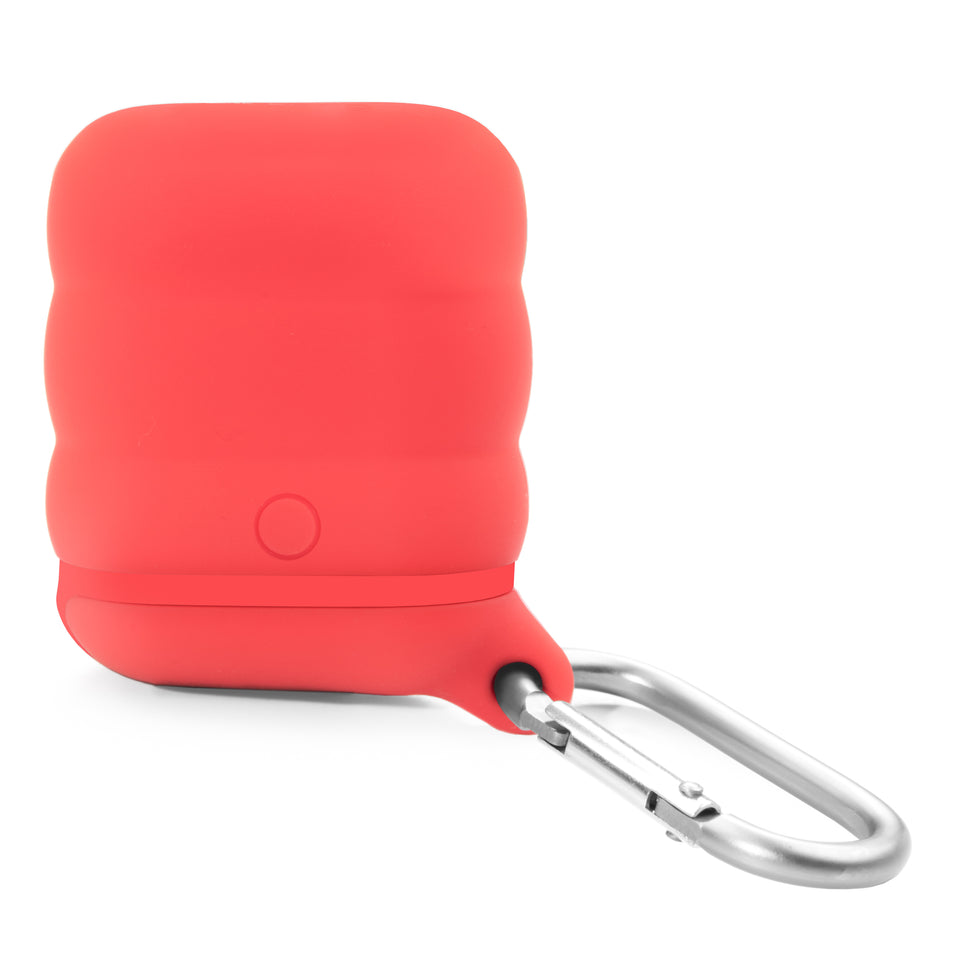 Water-Resistant AirPod Case - Red