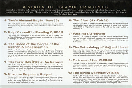 Enlightenment Pack (of 10 Books of Islamic Principles)