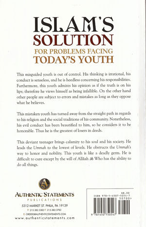Islam's Solution for the Problems Facing Today's Youth