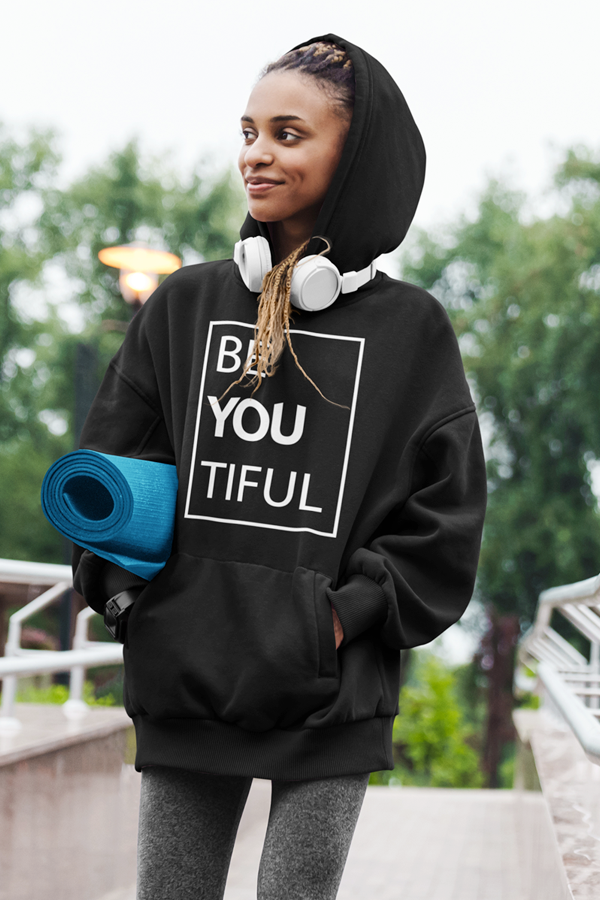 BeYouTiful - Hoodie - Sonyawordsmith