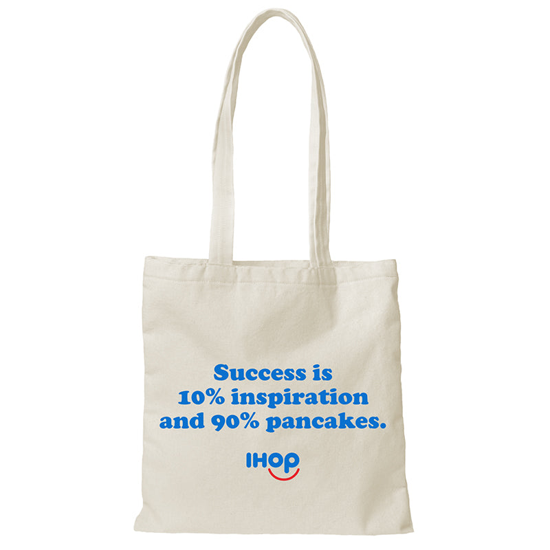 Success Shopper Tote - Pancakewear