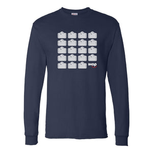 Pancake Stacks Long Sleeve - Pancakewear