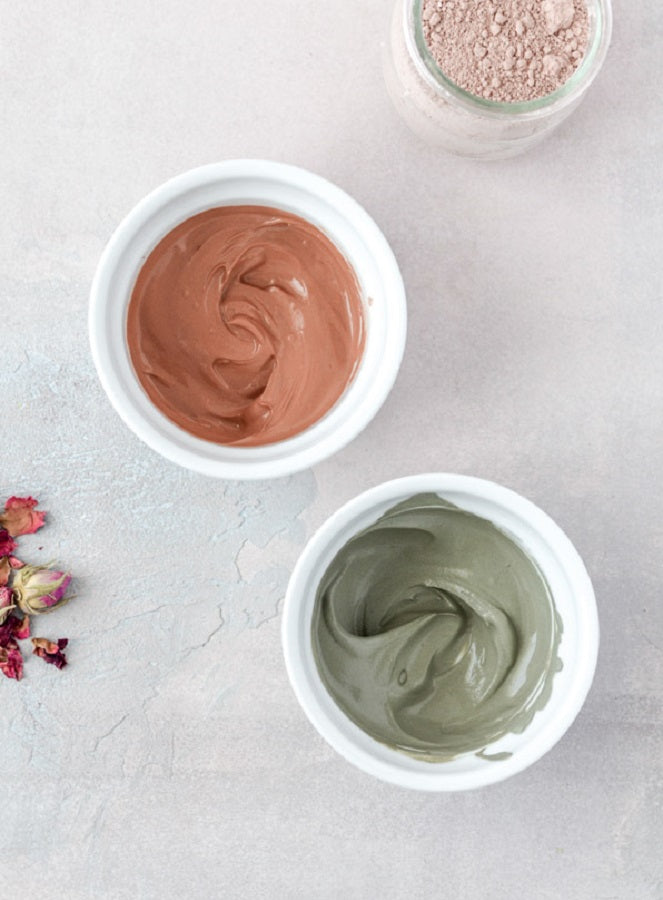 Mineral Clay Masks for All Skin Types
