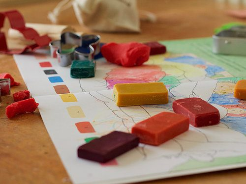 DIY Wax Crayons!