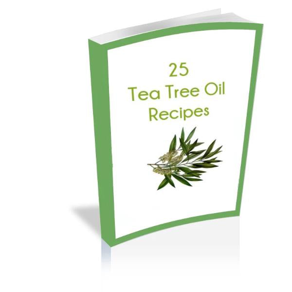 Tea Tree Oil Recipes e-Book