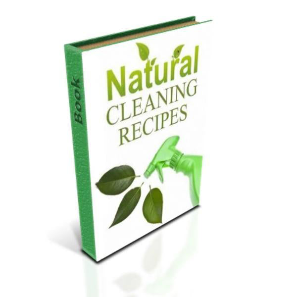 Natural Cleaning Recipes - Essentially Natural