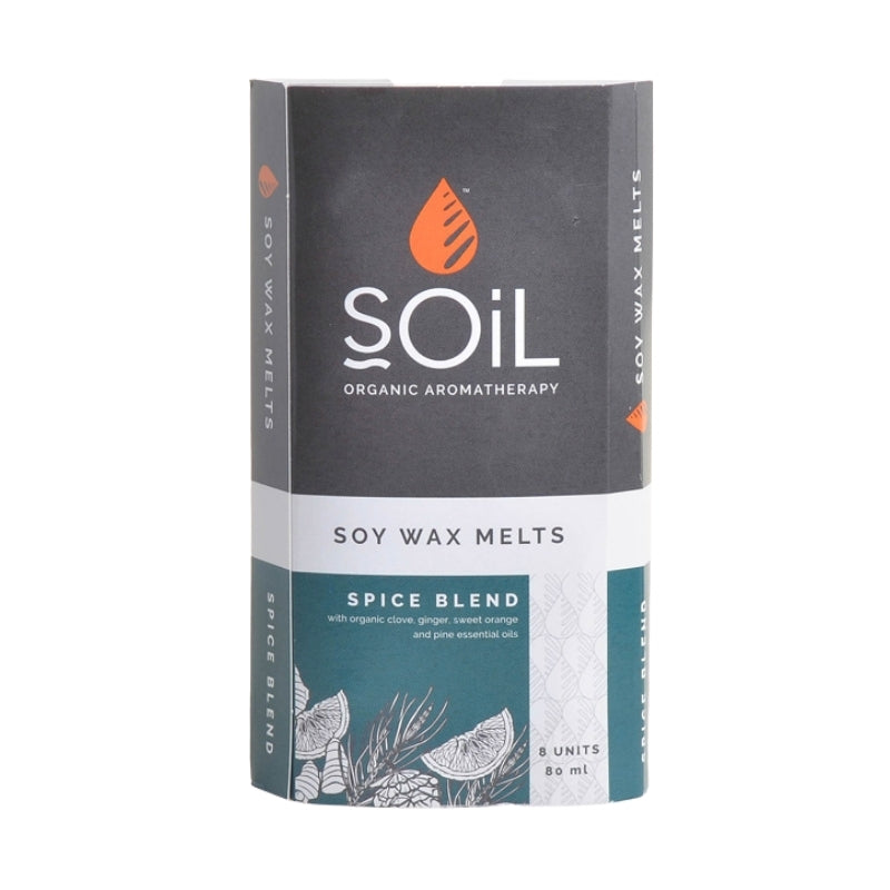 Soil Spice Blend Organic Soy Wax Melts - Essentially Natural