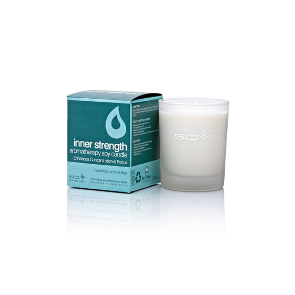 In Time Inner Strength Soy Wax Aromatherapy Candle
