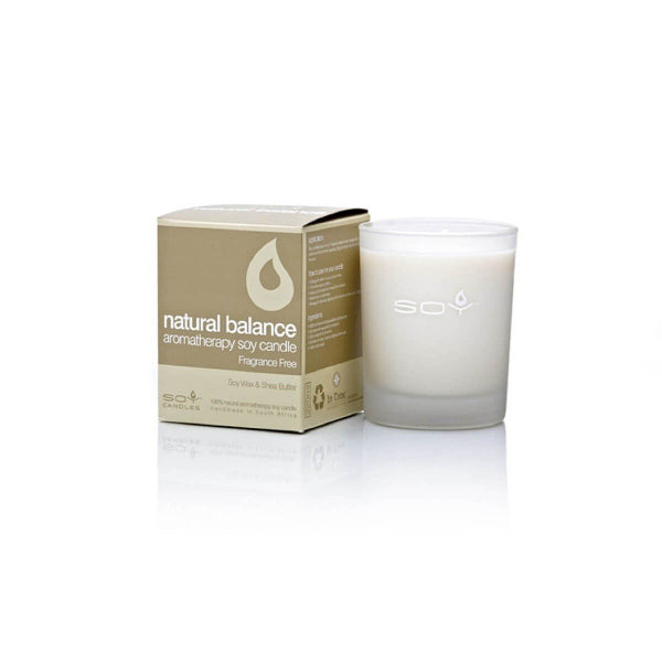 In Time Natural Balance Soy Wax Aromatherapy Candle