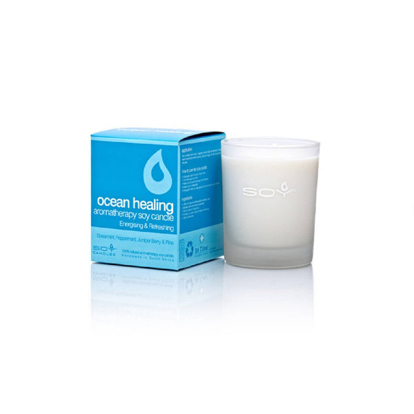 In Time Ocean Healing Soy Wax Aromatherapy Candle