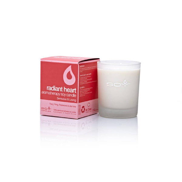 In Time Radiant Heart Soy Wax Aromatherapy Candle