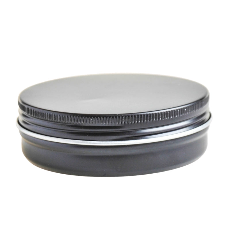 100g Black Aluminium Tin