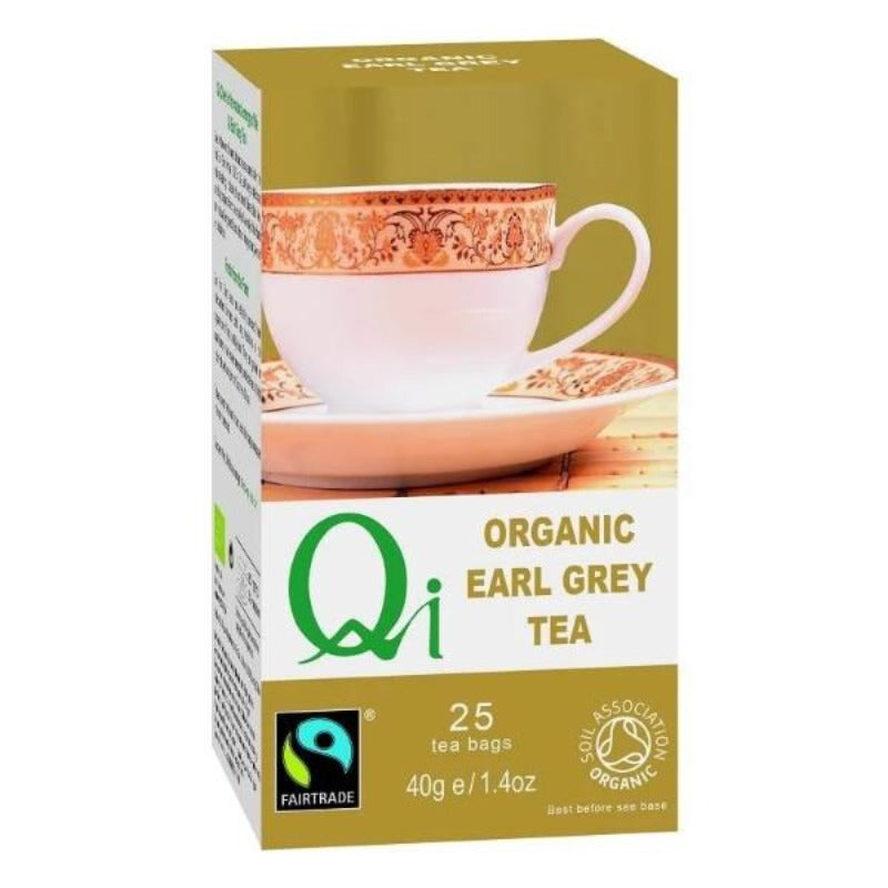 Qi Organic Earl Grey Tea