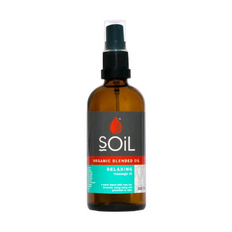 Soil Relaxing Massage Oil Blend - Essentially Natural