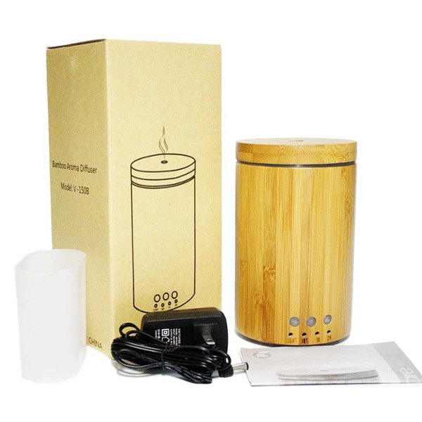 Escentia Bamboo Ultrasonic Diffuser -  Essential Natural