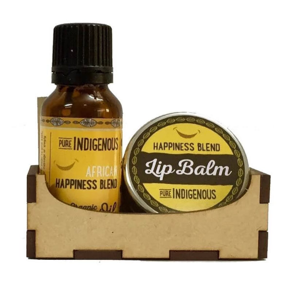 Pure Indigenous Gift of Joy (Happiness Oil & Lip Balm) - Essentially Natural