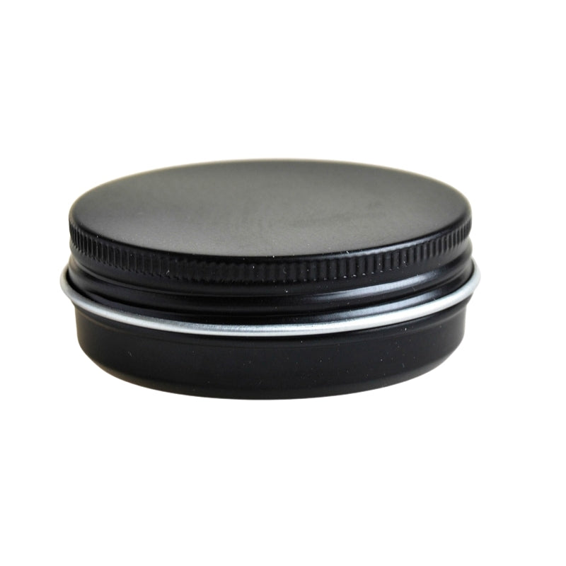 50g Black Aluminium Tin