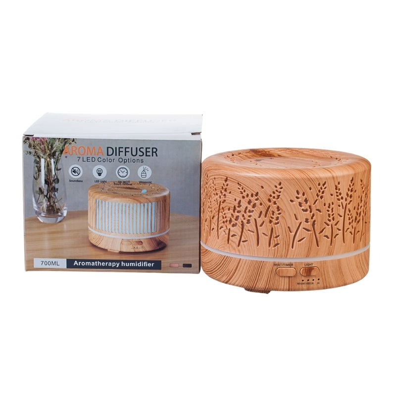 Ohm Diffuser for Essential Oils with LED Light & Timer (700ml)