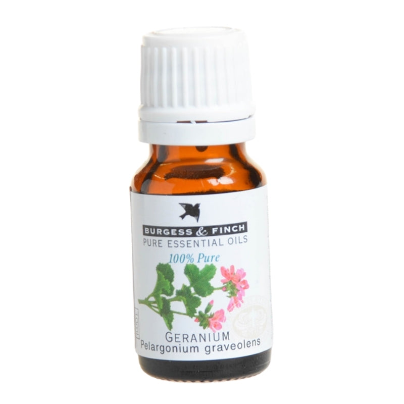 Burgess & Finch Geranium Essential Oil