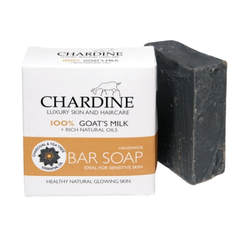 Chardine's Goat Milk Soap - Tea Tree & Activated Charcoal