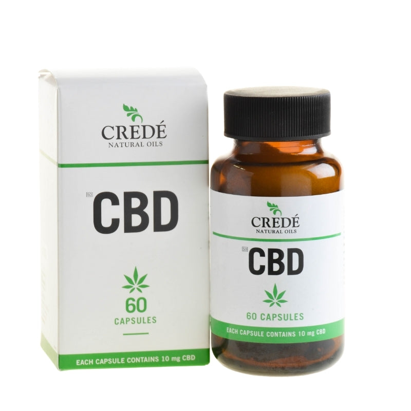 Crede CBD Oil Capsules - Essentially Natural