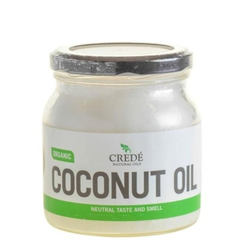 Crede Organic Odourless Coconut Oil (500ml)
