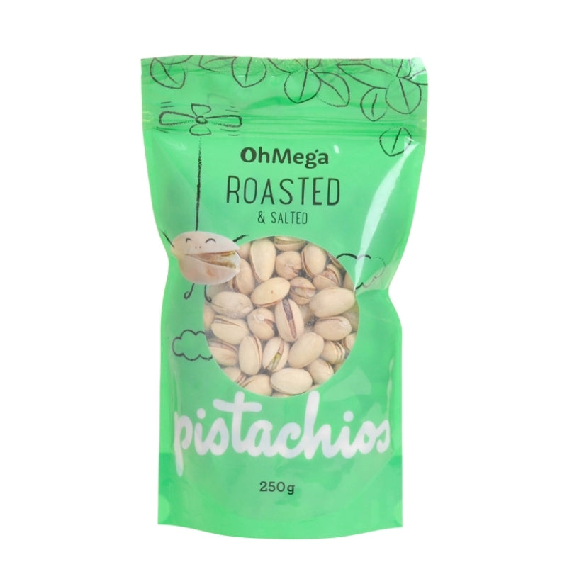 Oh Mega Roasted & Salted Pistachio Nuts