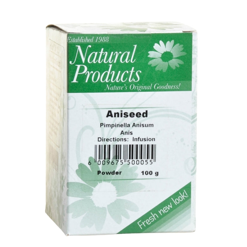 Dried Aniseed Powder (Pimpinella anisum)
