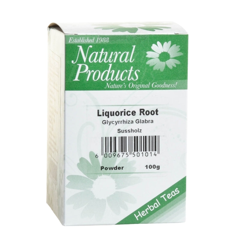 Dried Liquorice Root Powder (Glycyrrhiza glabra)