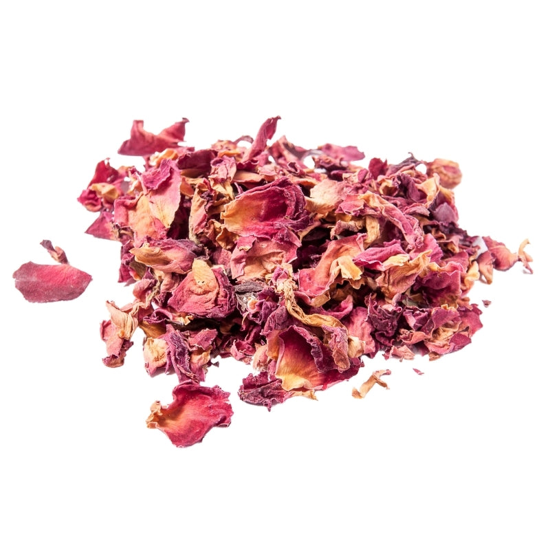 Dried Rose Petals (Red)