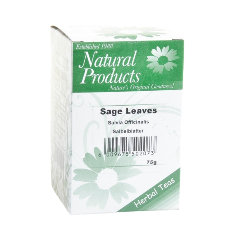 Dried Sage Leaves (Salvia officinalis)