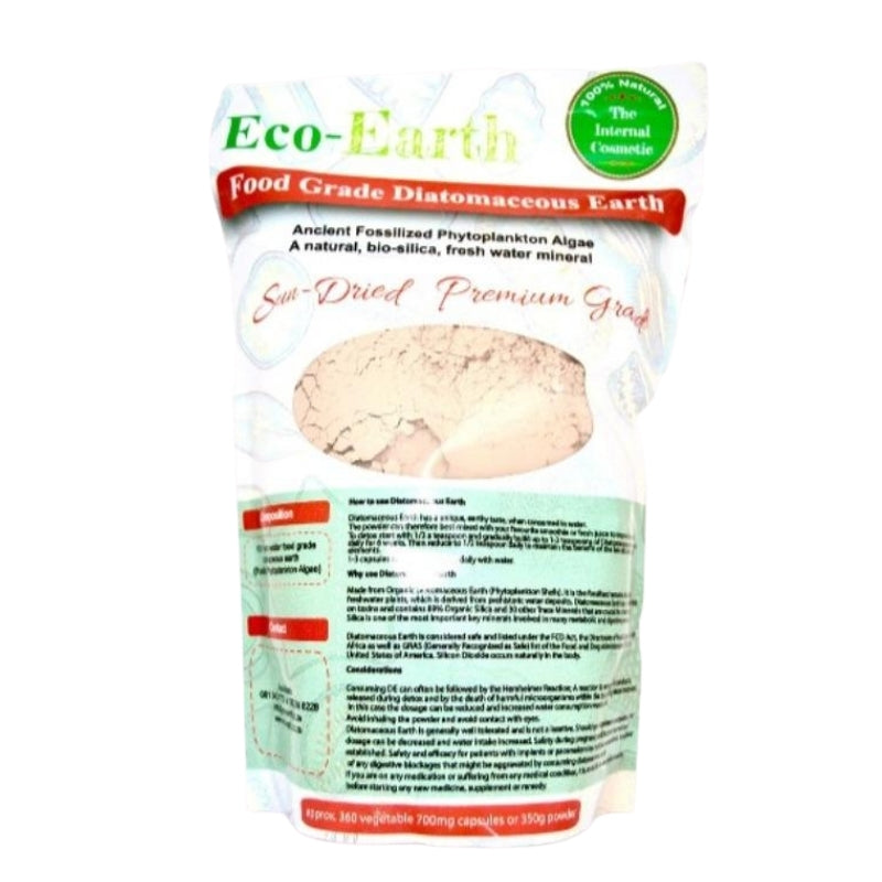 Eco-Earth Diatomaceous Earth Powder (Food Grade)